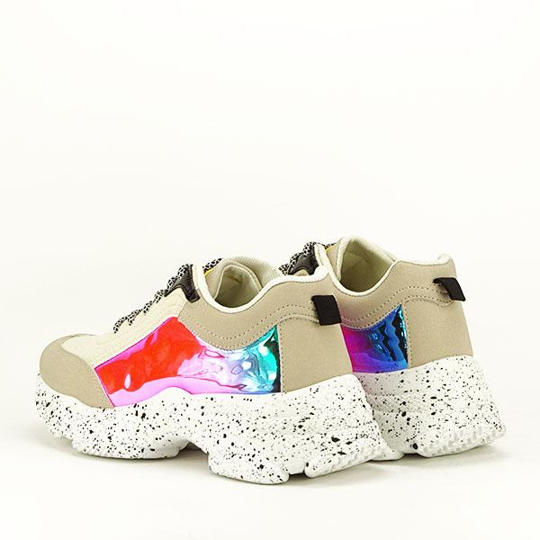 Sneakers bej Daiana 4