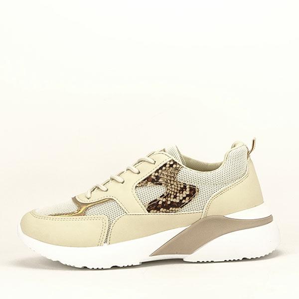 Sneakers bej Fabia [0]