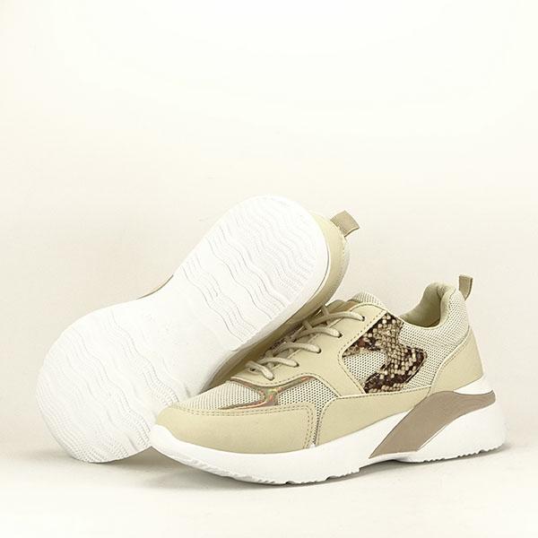 Sneakers bej Fabia [7]
