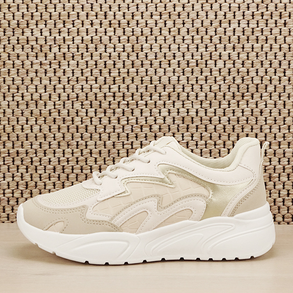Sneakers bej Tania [0]