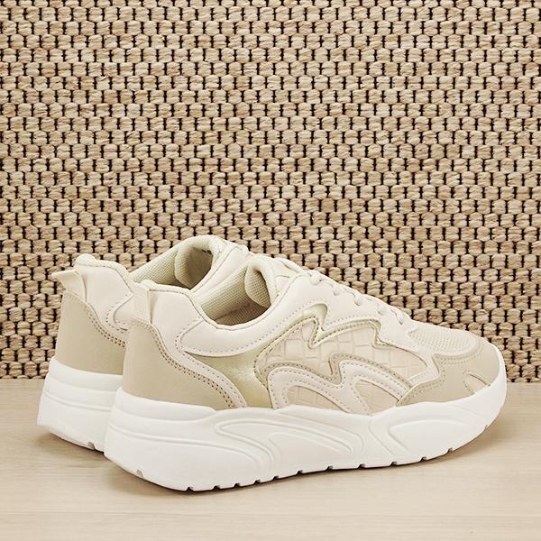 Sneakers bej Tania [4]