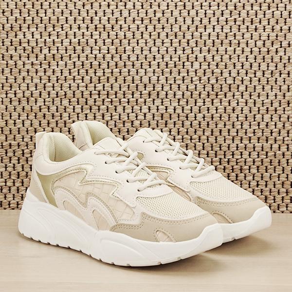 Sneakers bej Tania [2]