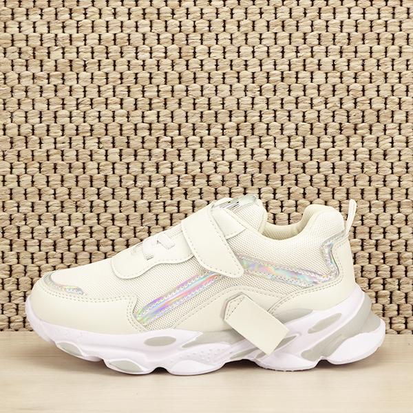Sneakers copii alb Hannah [1]