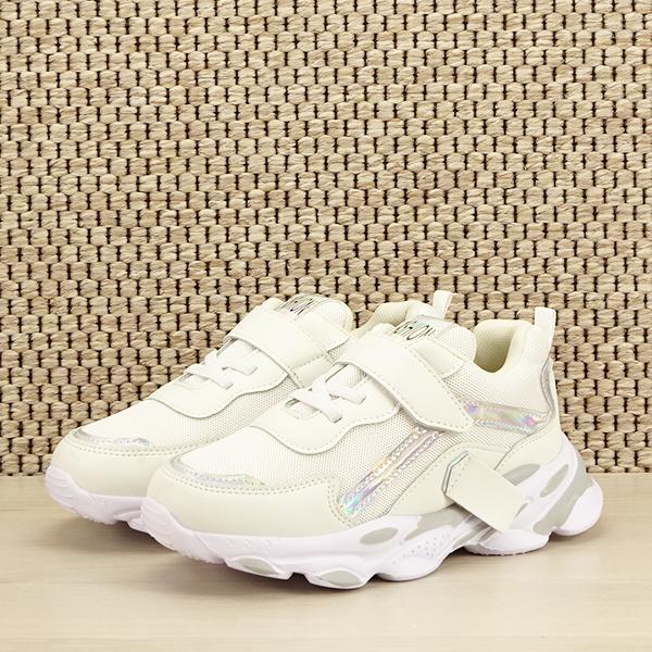 Sneakers copii alb Hannah [0]