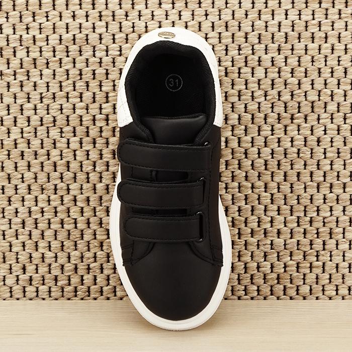 Sneakers copii negru Chris [6]