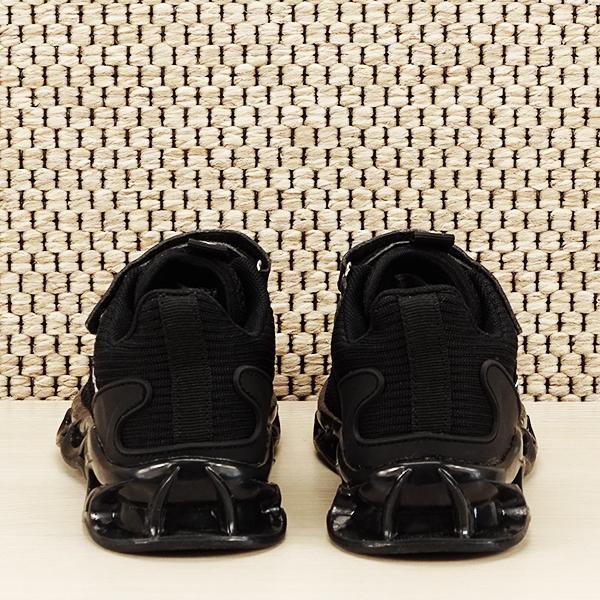 Sneakers copii cu leduri negru Kim [5]