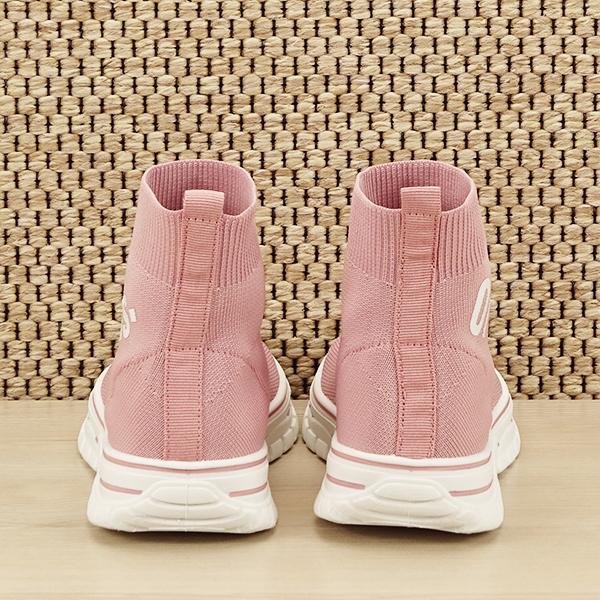 Sneakers copii roz tip soseta Dream [5]