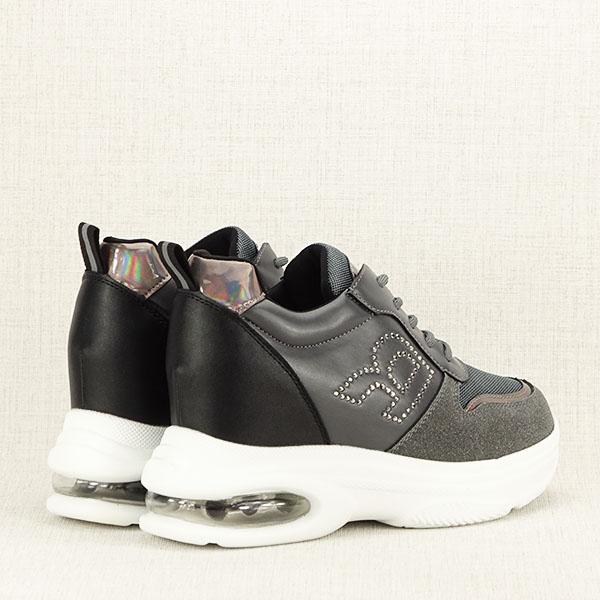 Sneakers gri High Top Luna 5