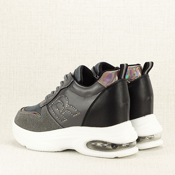 Sneakers gri High Top Luna 4