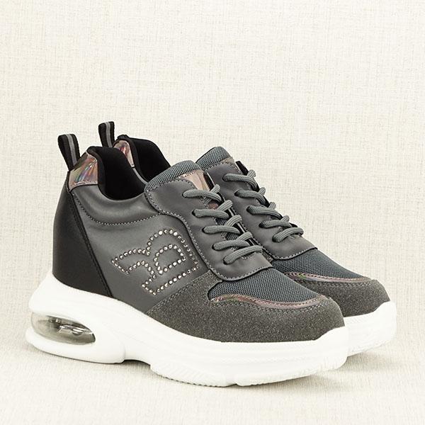 Sneakers gri High Top Luna 3