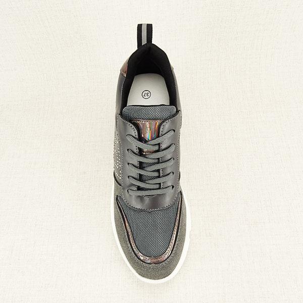 Sneakers gri High Top Luna 1