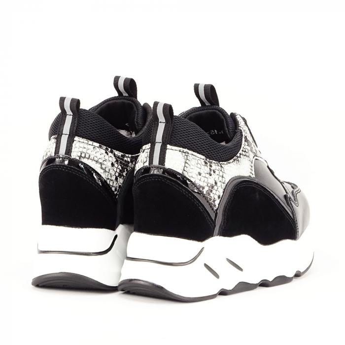 Sneakers negri High-Top Leslie 7