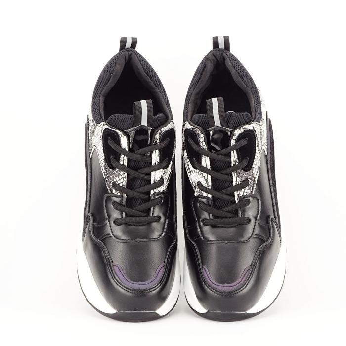 Sneakers negri High-Top Leslie 3