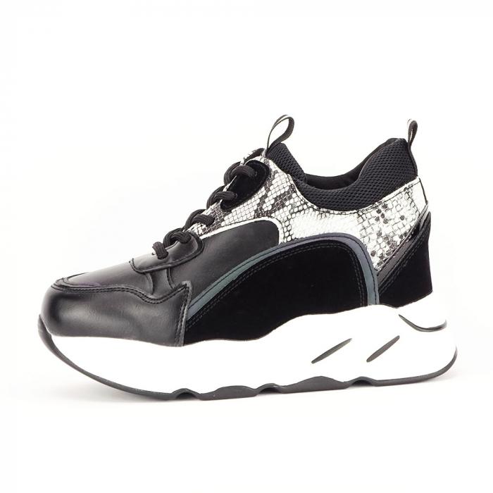 Sneakers negri High-Top Leslie 0