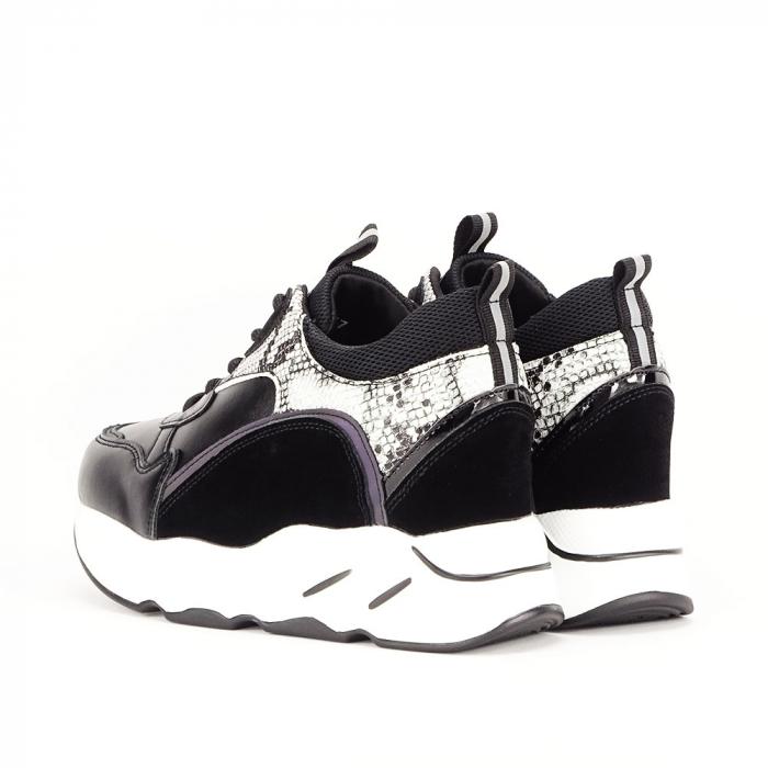 Sneakers negri High-Top Leslie 5