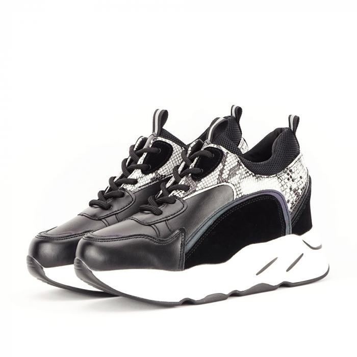 Sneakers negri High-Top Leslie 1