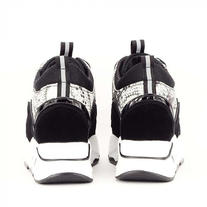 Sneakers negri High-Top Leslie 6