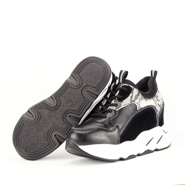 Sneakers negri High-Top Leslie 2