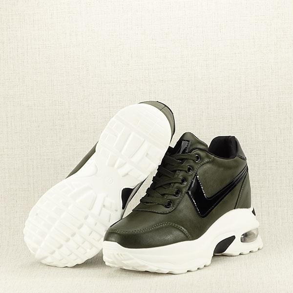 Sneakers kaki High Top Abby [7]
