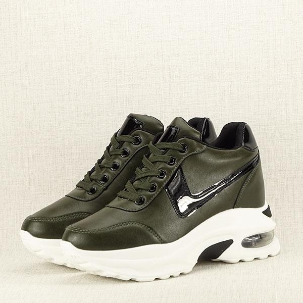 Sneakers kaki High Top Abby [0]