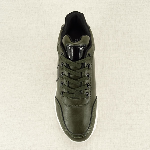 Sneakers kaki High Top Abby [4]