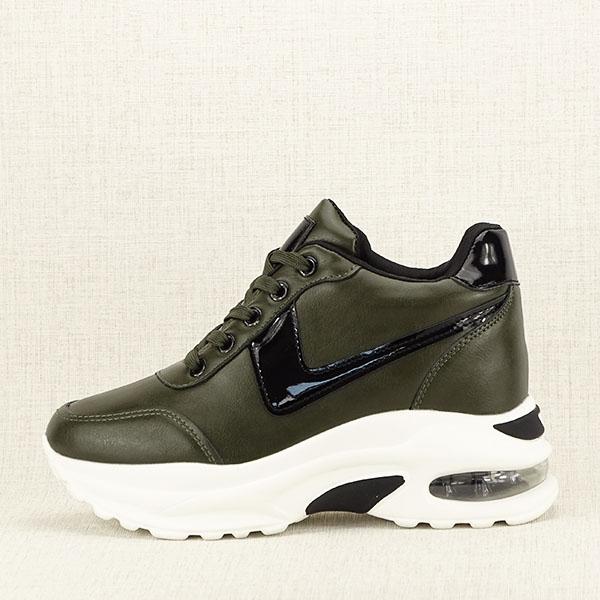 Sneakers kaki High Top Abby [1]