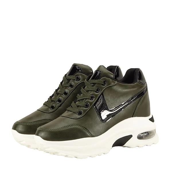 Sneakers kaki High Top Abby [8]