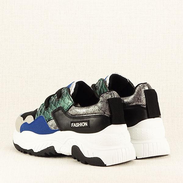 Sneakers negru Valeria 5