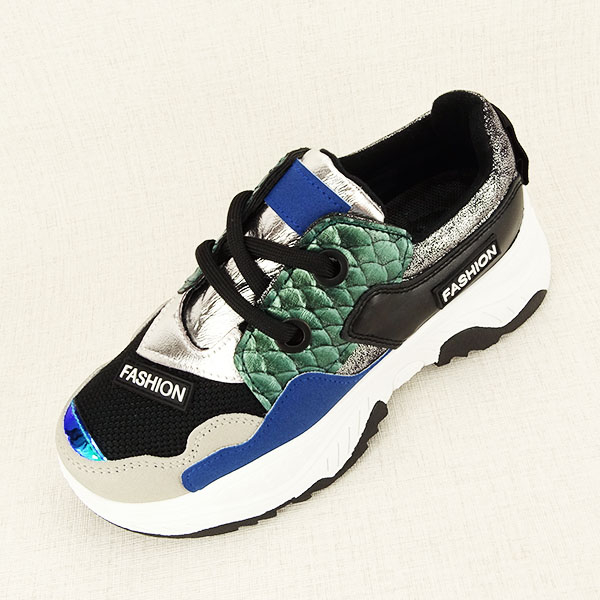 Sneakers negru Valeria 1