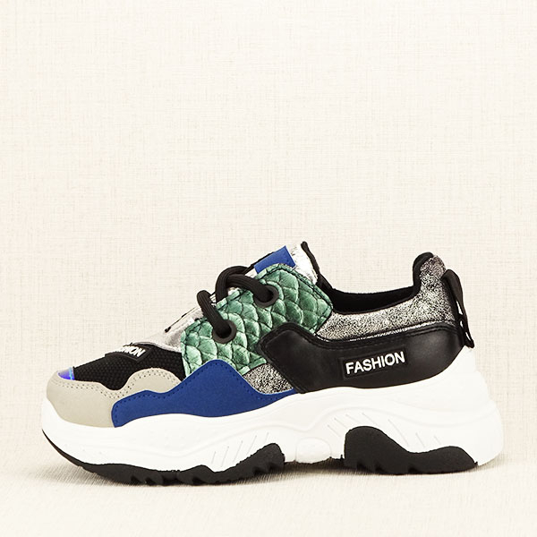 Sneakers negru Valeria 0