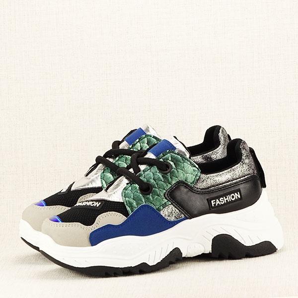 Sneakers negru Valeria 2