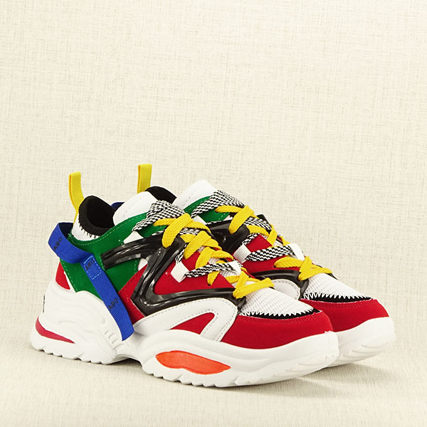 Sneakers multicolor Vicky 3