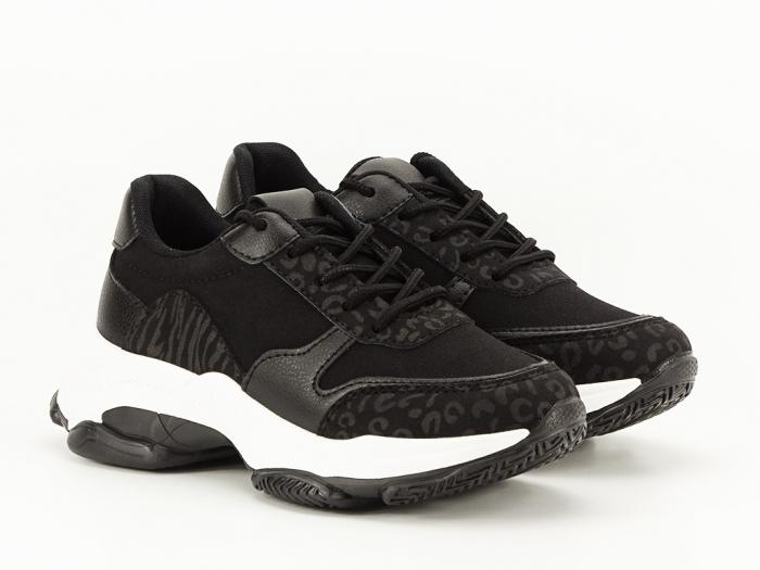 Sneakers negri Crina 6