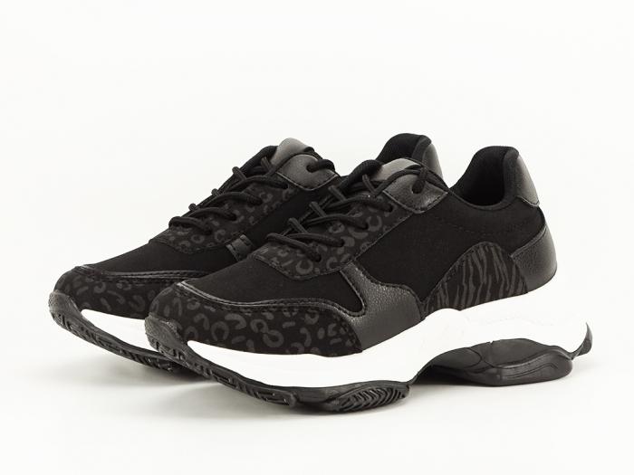 Sneakers negri Crina 3
