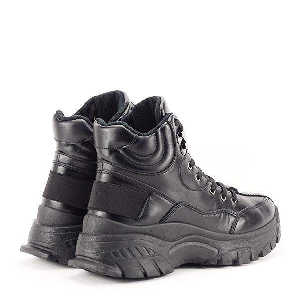Sneakers negri cu talpa groasa Betty 4