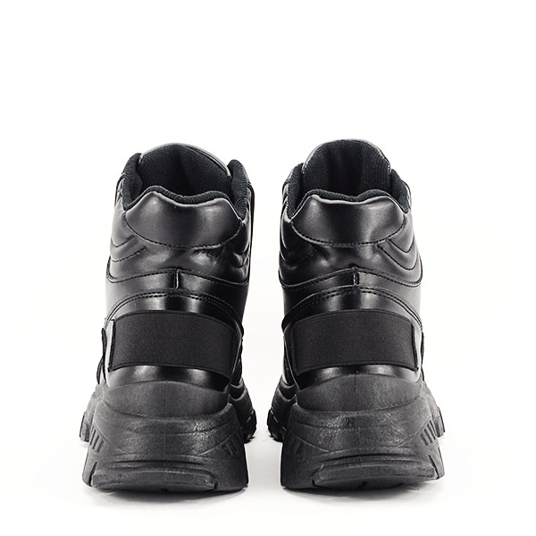 Sneakers negri cu talpa groasa Betty 6