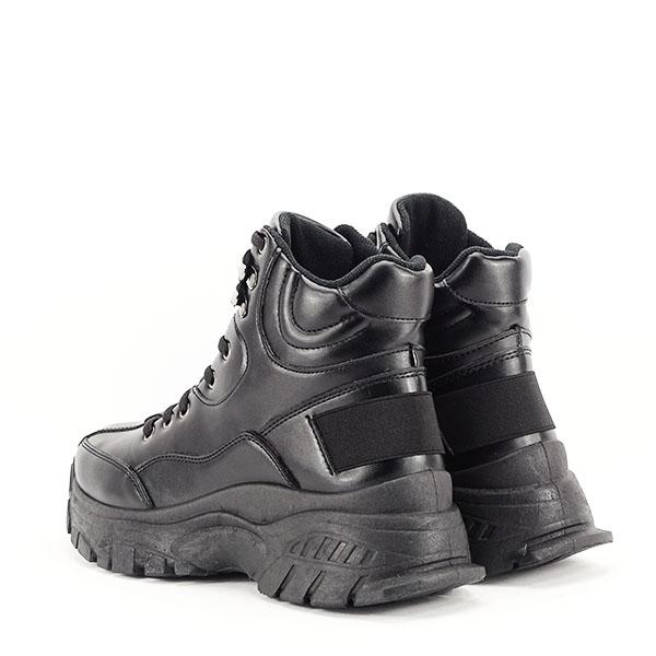 Sneakers negri cu talpa groasa Betty 3