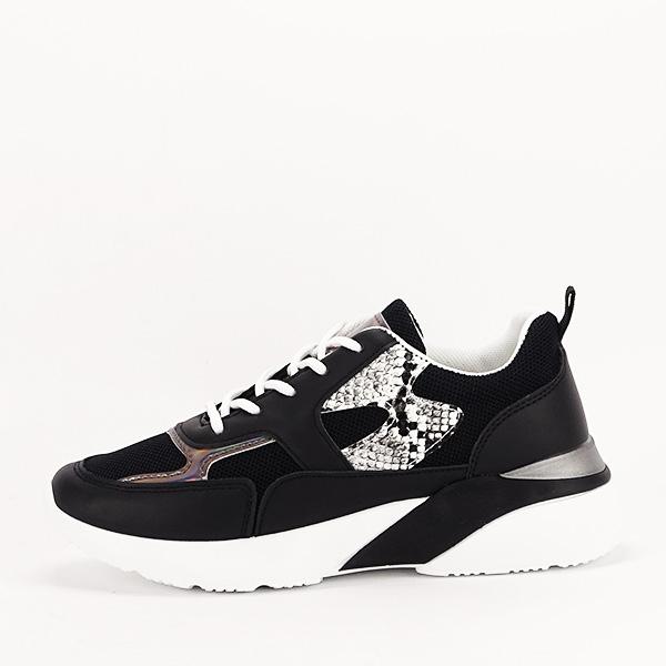 Sneakers negru Fabia [0]