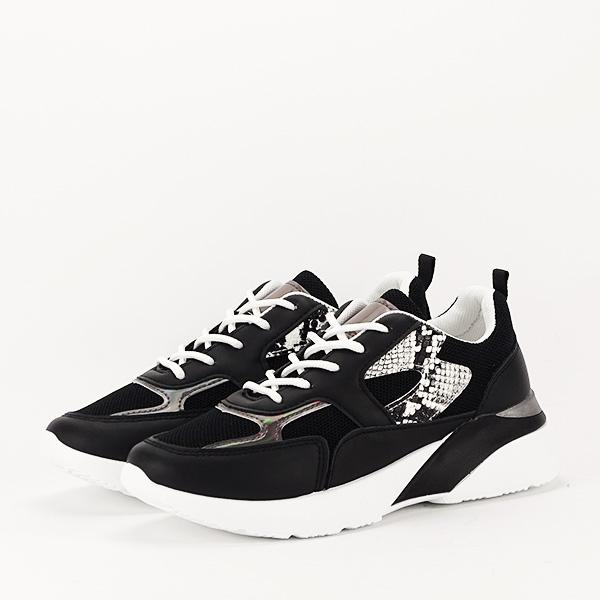 Sneakers negru Fabia [1]