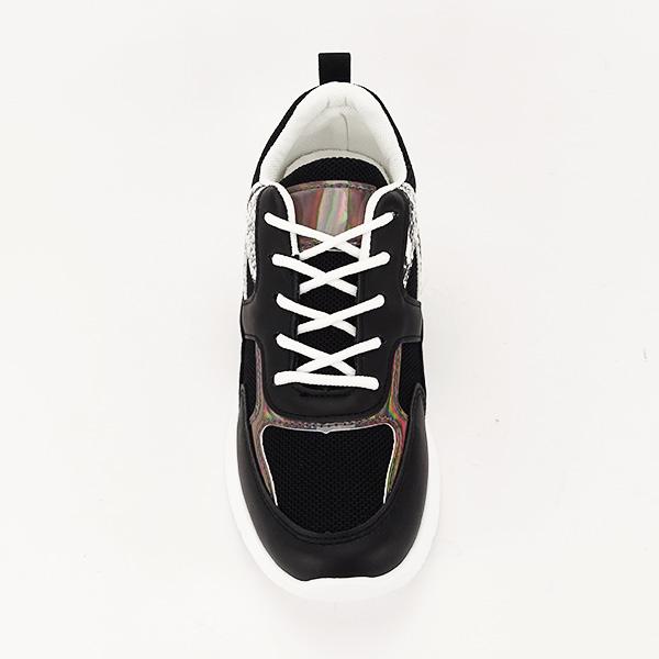 Sneakers negru Fabia [6]