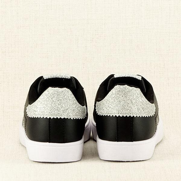 Sneakers negru cu sclipici Betina 6