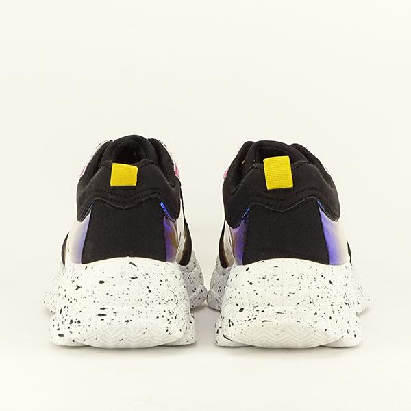 Sneakers negru Daiana 6