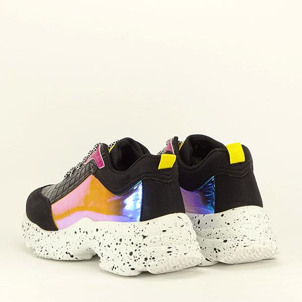 Sneakers negru Daiana 4