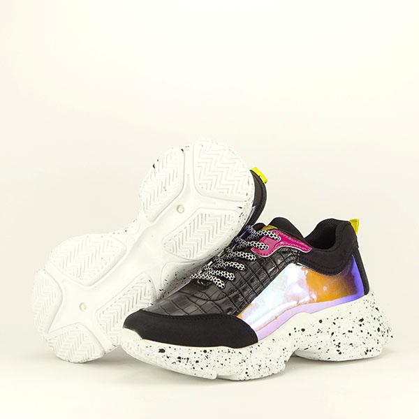 Sneakers negru Daiana 7