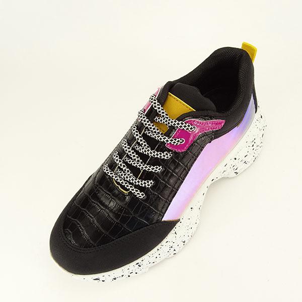 Sneakers negru Daiana 1