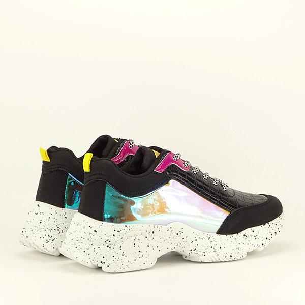 Sneakers negru Daiana 5