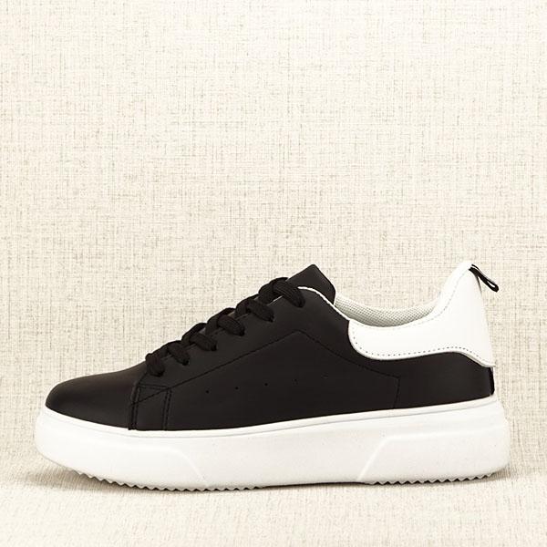 Sneakers negru Estera 8