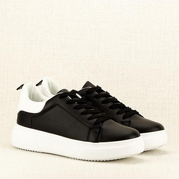 Sneakers negru Estera 3