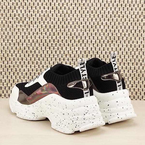 Sneakers negru Martina [3]