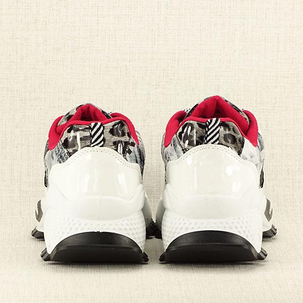 Sneakers negru cu alb Dana 6